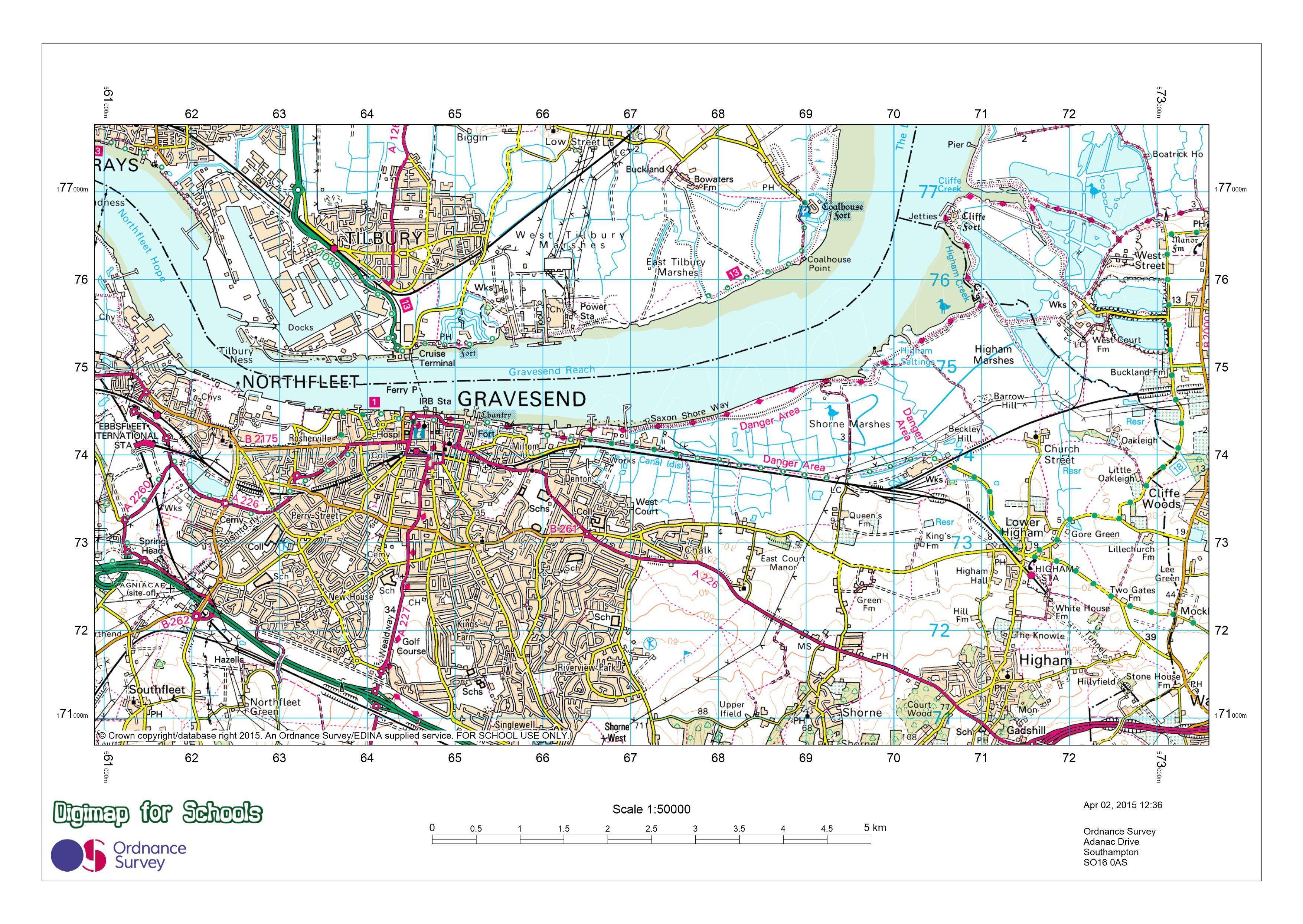 Map Of England Ks2.Royal Geographical Society Geography Resources For Teachers