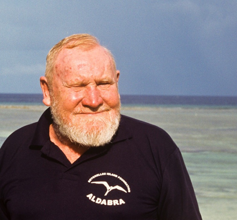 David Stoddart OBE. Reproduced with kind permission of the Seychelles Island Foundation.
