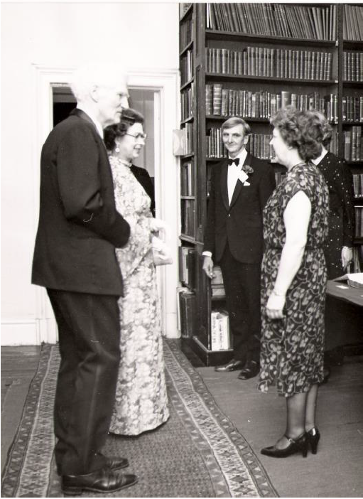 Christine Kelly (right). Source credit: The Royal Geographical Society (with IBG)