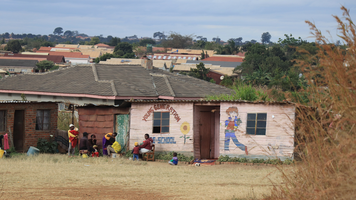 A school in Hatcliffe. Image by Wilfred Kajese